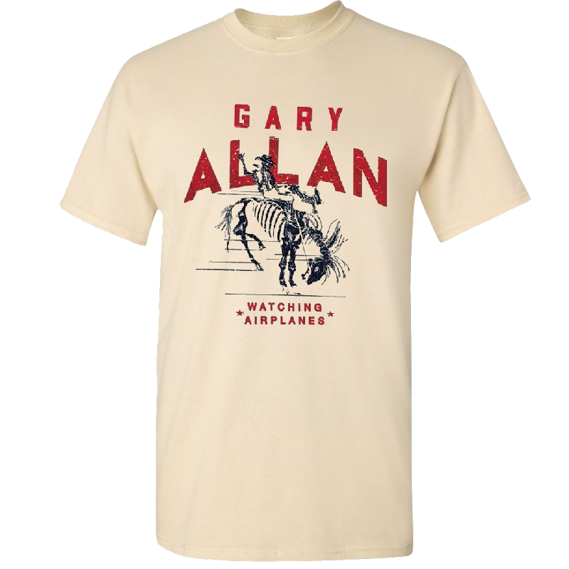 Gary Allan Natural Watching Airplanes Tee