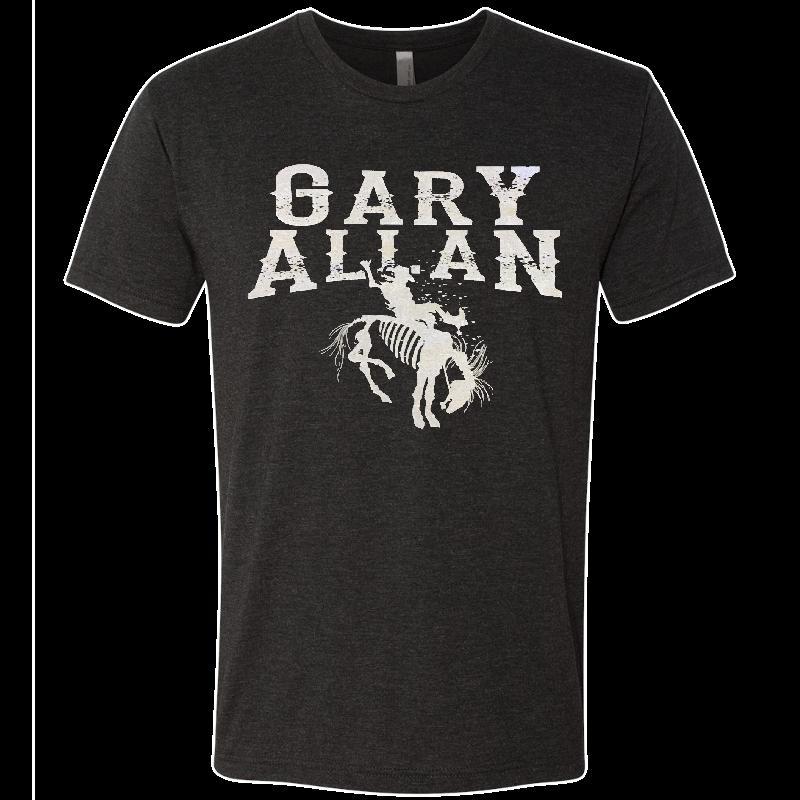 Gary Allan Vintage Black Logo Tee