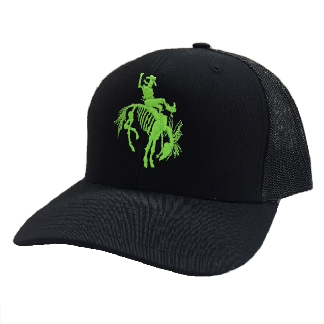 Gary Allan Black Ballcap w/ Neon Green Logo