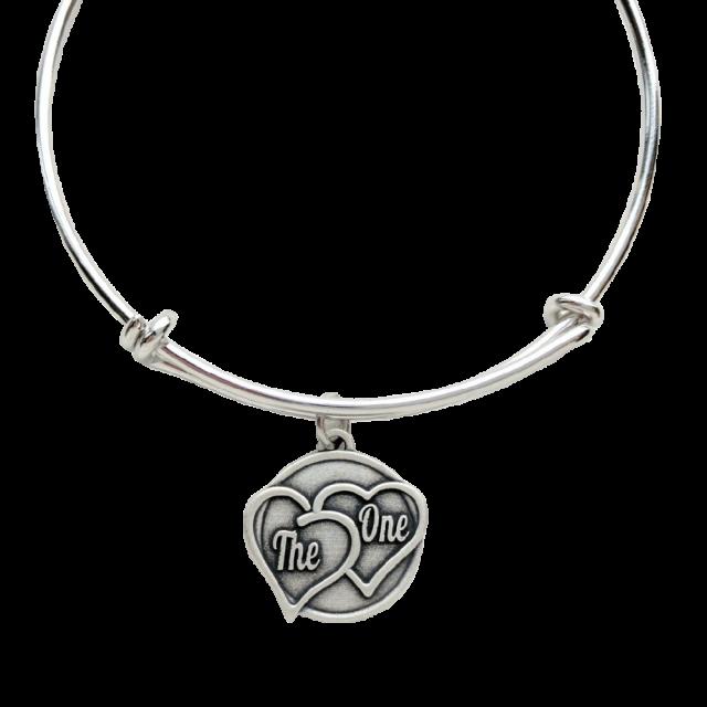 Gary Allan Bracelet w/ Heart Charm