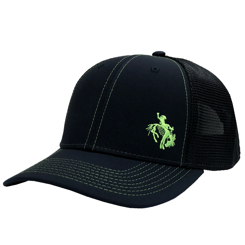 Gary Allan Black Ballcap w/ Green Logo