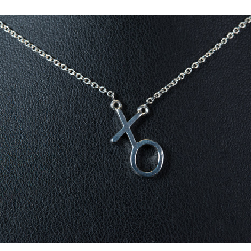 "Gary Allan Single XO Necklace w/ 20"" Chain"