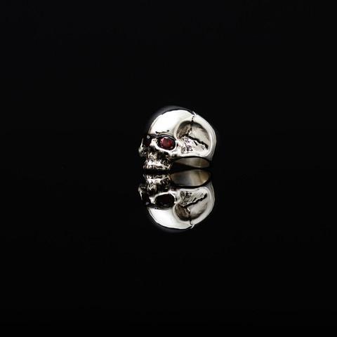 Gary Allan Half Skull Ring