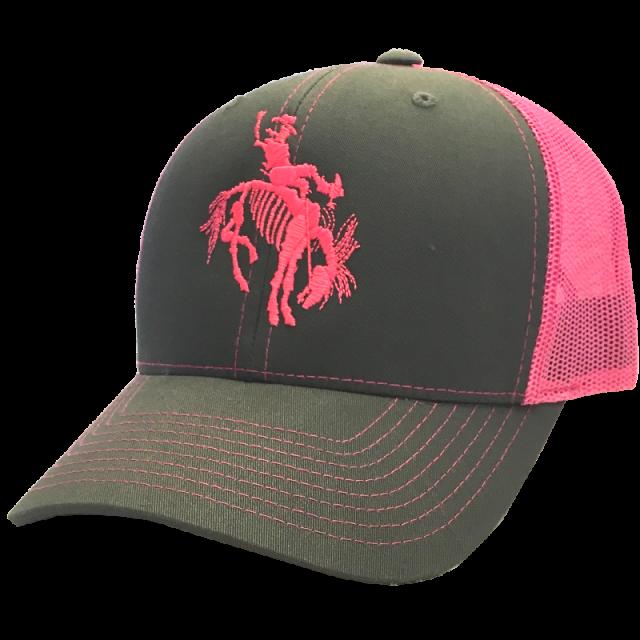 Gary Allan Grey and Hot Pink Ballcap