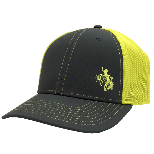 Gary Allan Charcoal and Neon Yellow Ballcap