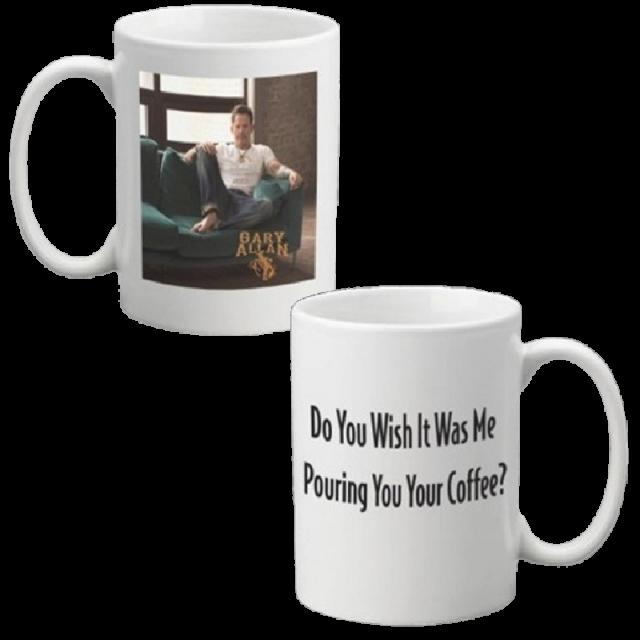 Gary Allan Wish It Was Me 15oz Coffee Mug