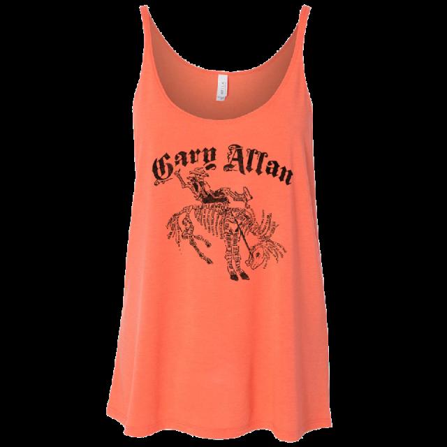 Gary Allan Coral Tank Top
