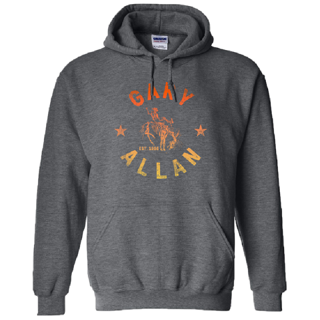 Gary Allan Charcoal Pullover Hoodie