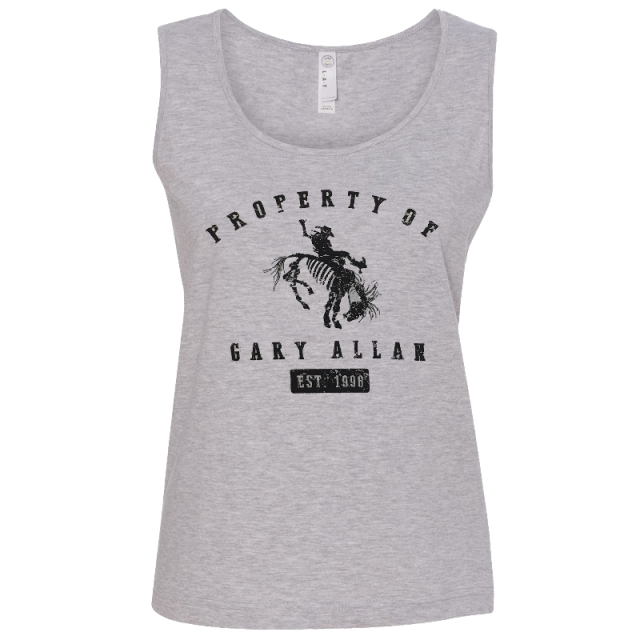 Gary Allan Ladies Heather Tank