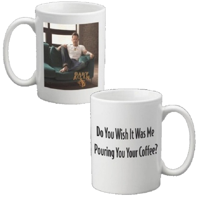 Gary Allan Wish It Was Me 15oz Coffee Mug