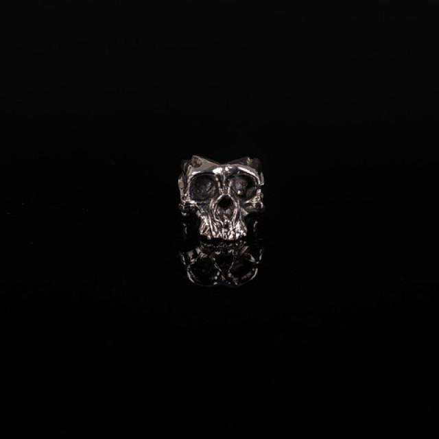 Gary Allan Neanderthal Skull Ring