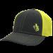 Gary Allan Charcoal and Neon Yellow Ballcap