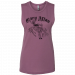 Gary Allan Ladies Purple Muscle Tank